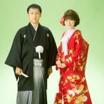 色打掛と袴